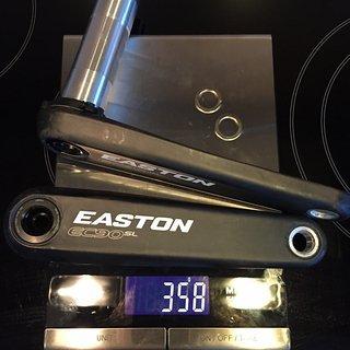 Gewicht Easton Kurbel EC90 SL 170.0 mm