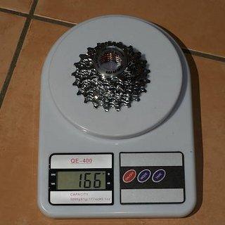 Gewicht SRAM Kassette PG-970 9-fach, 11-21Z