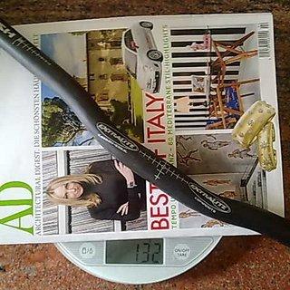 Gewicht Extralite Lenker Ultra Push 25,4 x 600mm
