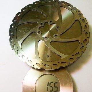 Gewicht Hayes Bremsscheibe V7 Rotor 180mm