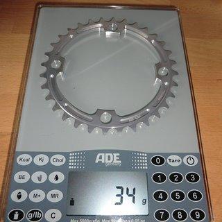 Gewicht e-thirteen Kettenblatt Guide Ring 104mm, 32Z