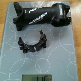 Gewicht Controltech Vorbau Merida OEM 31.8mm, 90mm