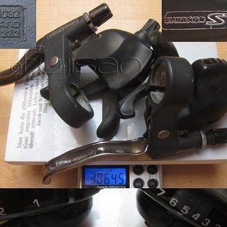 Gewicht Shimano Schalthebel STX ST-MC32 3x7-fach