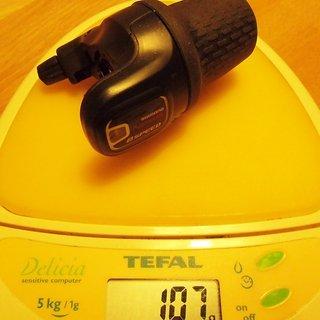 Gewicht Shimano Drehschaltgriff Nexus SL-8S20 8-fach