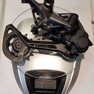 Gewicht Shimano Schaltwerk RD-M8100 SGS