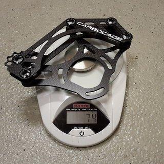 Gewicht Carbocage Kettenführung Mini 32-36