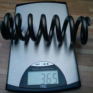 """Gewicht TF Tuned Shox Feder Titanium Shock Spring 400 x 3.0"""""""