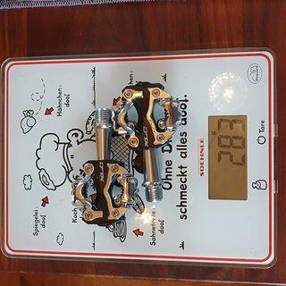 Gewicht XLC Pedale (Klick) PD-S15 SPD