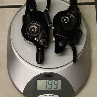 Gewicht SRAM Schalthebel X0 Trigger 2x10-fach