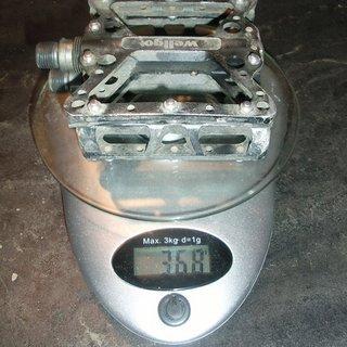 Gewicht Wellgo Pedale (Platform) B150