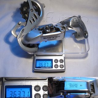 Gewicht Shimano Schaltwerk Nexave RD-C900 Long Cage