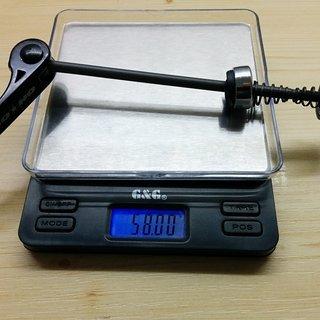 Gewicht On-One Schnellspanner Reet'ard OEM Schnellspanner VR 100mm