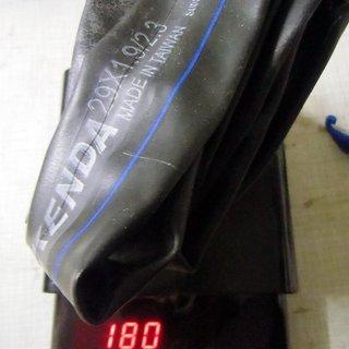 """Gewicht Kenda Schlauch Universalschlauch SV/29x1.9-2.3"""""""