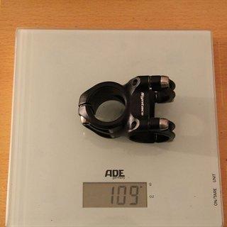 Gewicht Syntace Vorbau Megaforce 2 31.8mm, 30mm, 6°