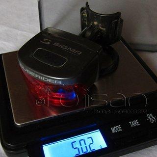 Gewicht Sigma Beleuchtung Cuberider