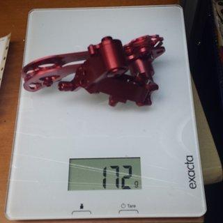 Gewicht Precision Billet Schaltwerk Proshift 2.0 Longcage
