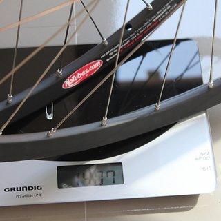 """Gewicht FRM Systemlaufräder FL-M Team + ZTR Olympic 26"""", VR: 100/QR, HR: 135/QR"""