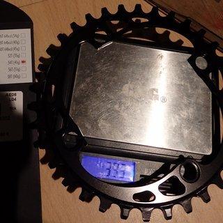 Gewicht absoluteBlack Kettenblatt XX1 Style (Shimano) 104mm, 34Z