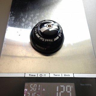 Gewicht Aest Steuersatz YHS56Al-08 ZS44/28.6, ZS56/40