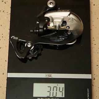 Gewicht Shimano Schaltwerk Acera RD-M360 Long Cage