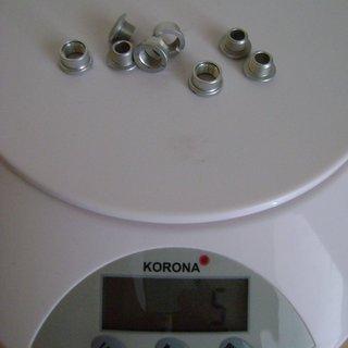 Gewicht Middleburn Kettenblattschrauben Kettenblattschrauben M8x5mm, 4x