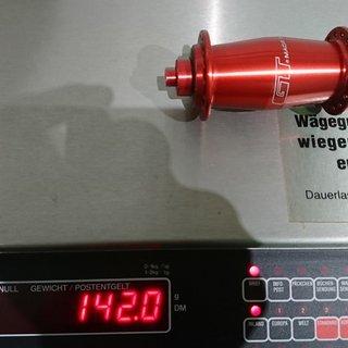 Gewicht GT Nabe Hadley VR 100mm/QR, 32-Loch