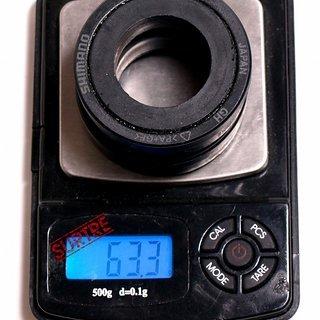 Gewicht Shimano Innenlager XTR SM-BB91-42 BB92 Pressfit