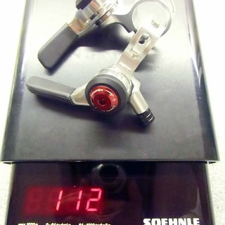 Gewicht MicroShift Schalthebel SL-A10 3x10-fach