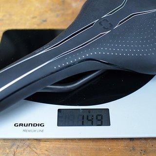 Gewicht Bontrager Sattel Evoke RXL Carbon 148mm