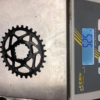 Gewicht absoluteBlack Kettenblatt Oval Boost 148 Traction Kettenblatt für SRAM GXP 30T