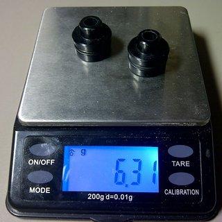Gewicht Mavic Weiteres/Unsortiertes Adapter QR 9mm VR, 100mm/QR