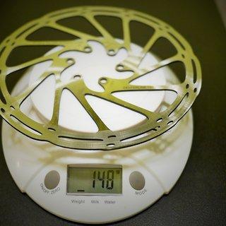 Gewicht SRAM Bremsscheibe Centerline 180 mm