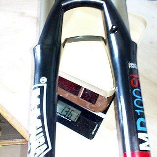 """Gewicht Magura Federgabel Durin MD100SL 26"""", 100mm, 1-1/8"""""""