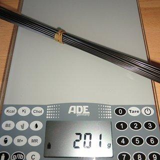 Gewicht Sapim Speiche Race 294mm, 32 Stück