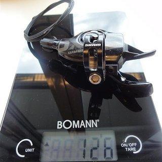 Gewicht SRAM Schalthebel X0 Trigger 10-fach