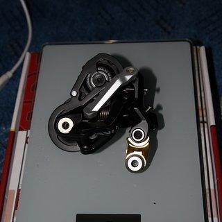 Gewicht Shimano Schaltwerk Saint RD-M810 SS Short Cage