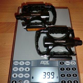 Gewicht Procraft Pedale (Platform) MTB Allround II