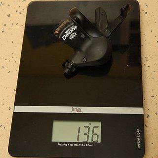 Gewicht Shimano Schalthebel Deore SL-M510 3-fach