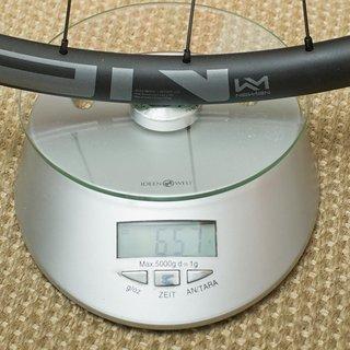 """Gewicht Newmen Systemlaufräder Evolution SL X.A.25 Boost Gen. 1 27,5"""", 25 mm, 15x110, 12x148"""