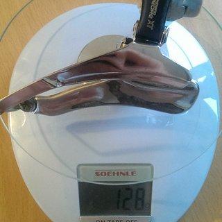 Gewicht Shimano Umwerfer XT FD-M735 34,9mm