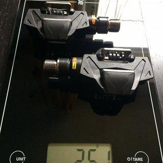 Gewicht Mavic Pedale (Klick) CROSSMAX SL PRO TI