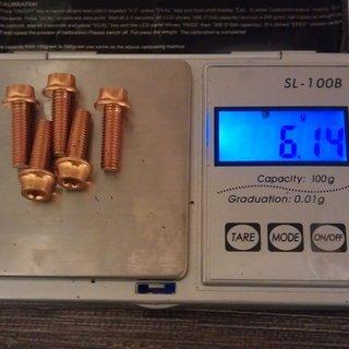 Gewicht A2Z Schrauben, Muttern Linsenkopfschraube M5x15, Al
