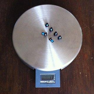 Gewicht Hope Schrauben, Muttern Linsenkopfschraube M5x10, Stahl