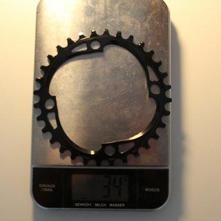 Gewicht absoluteBlack Kettenblatt XX1 Style (Shimano) 104mm, 32Z