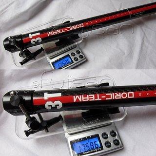 Gewicht 3T Sattelstütze Doric Team 27.2 x 350mm