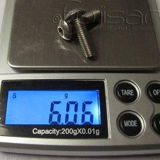 Gewicht Cannondale Schrauben, Muttern Linsenkopfschraube M5x18, Stahl