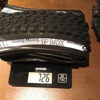 """Gewicht Bontrager Reifen XR4 Team Issue TLR 27.5x2.20"""""""