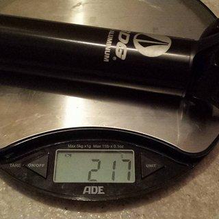 Gewicht SDG Sattelstütze Alloy Micro / I Beam Post 30,9 mm