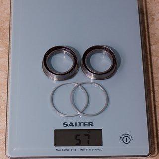 Gewicht THM-Carbones Innenlager MTB Shimano Pressfit