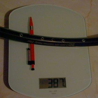 """Gewicht BOR Felge 388XMD  26"""""""